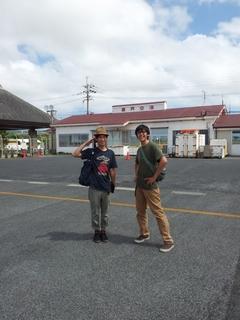 ハシケン大地喜界島空港にて.jpg